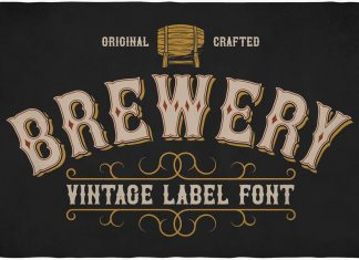 Brewery Font