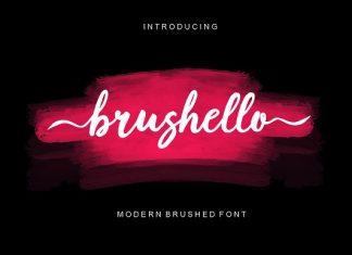 Brushello Font