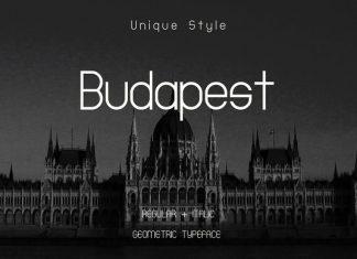 Budapest Regular + Italic Font