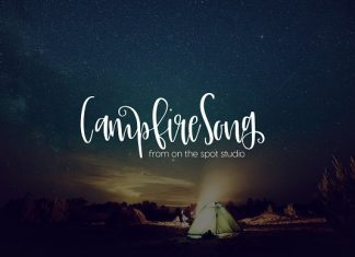 Campfire Song Font