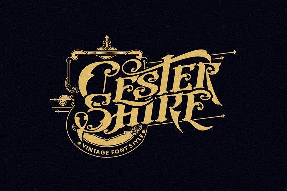 Cester Shire Font