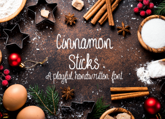 Cinnamon Sticks Font