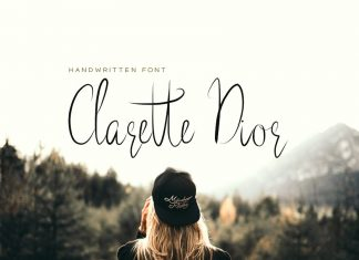 Clarette Dior - Handwritten Font