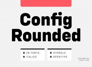 Config Rounded Font Family