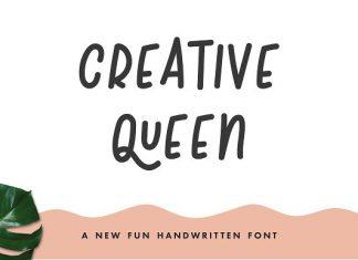 Creative Queen Font