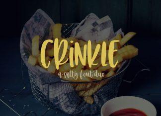 Crinkle - Bonus Script Font