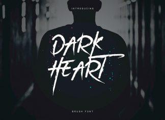 DarkHeart Script Font