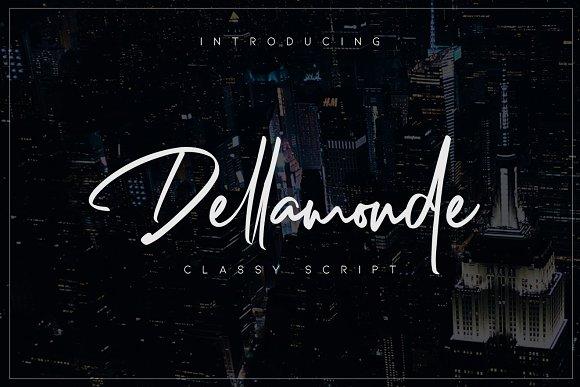 Dellamonde - Classy Script Font