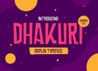 Dhakuri Font