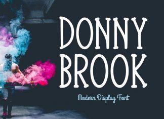 Donnybrook Typeface