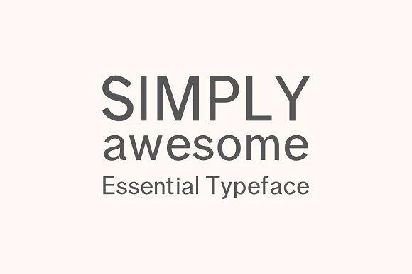 Effren An Essential Sans Serif Font