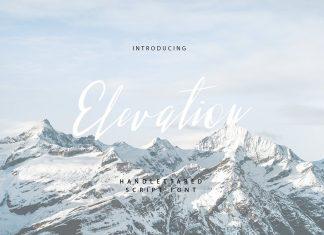 Elevation script Font