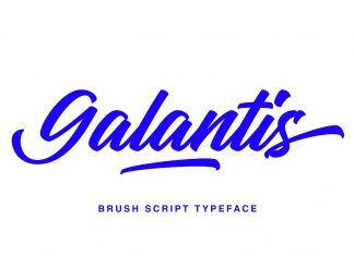 Galantis Script Font