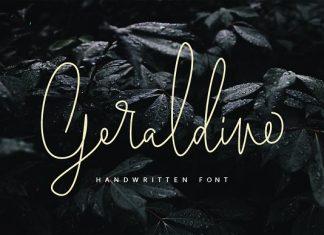 Geraldine Handwritten Font