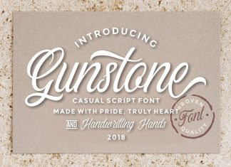 Gunstone Script Font
