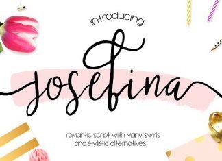 Josefina Bonus Elements Font