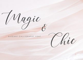 Magic & Chic Calligraphy Font