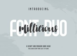 Millicious Font Duo