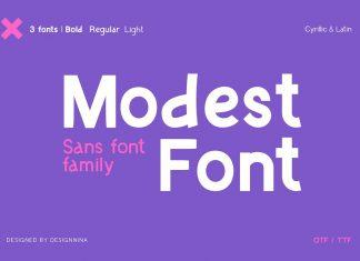 ModestFont — Sans Font