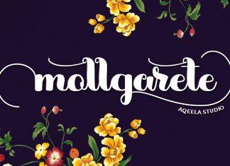 mollgarete Script Font