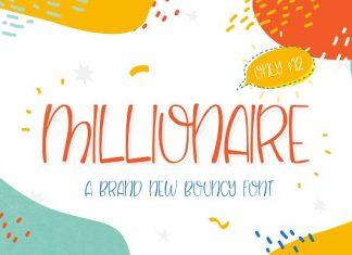 NEW! Millionaire Font