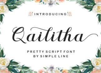 Qailitha Script Font