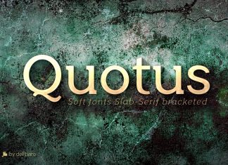Quotus Slab Bracketed 8 Fonts