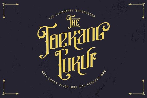 Rajawaley Typeface