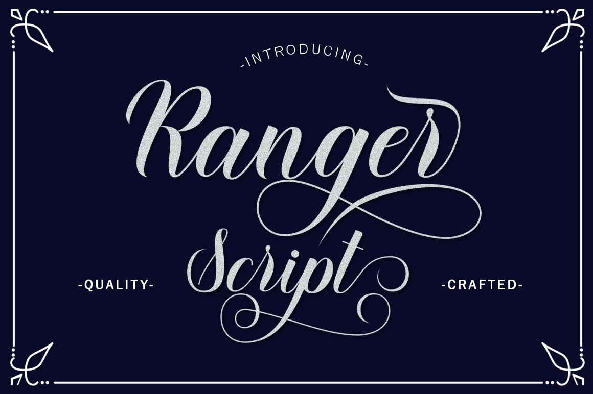 Ranger Script Script Font