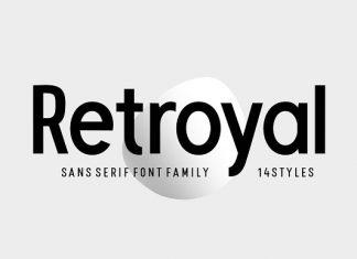 Retroyal Font