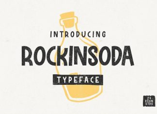 Rockinsoda Script Font