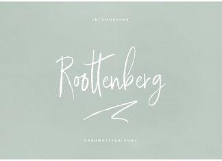 Roottenberg Font