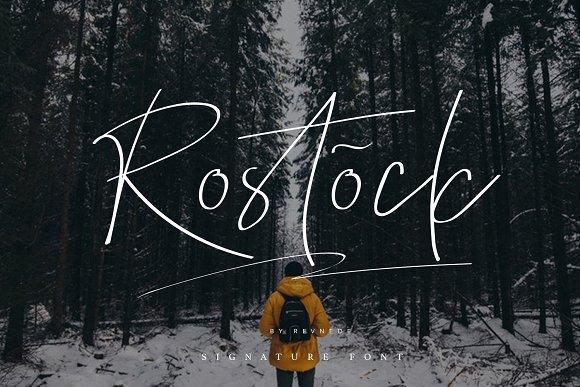 Rostock Script Font