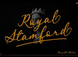 Royal Stamford Font
