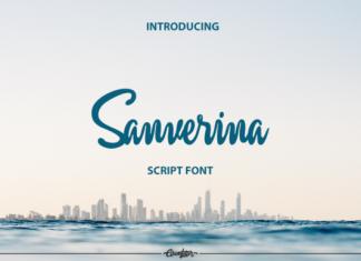 Sanverina Script Font