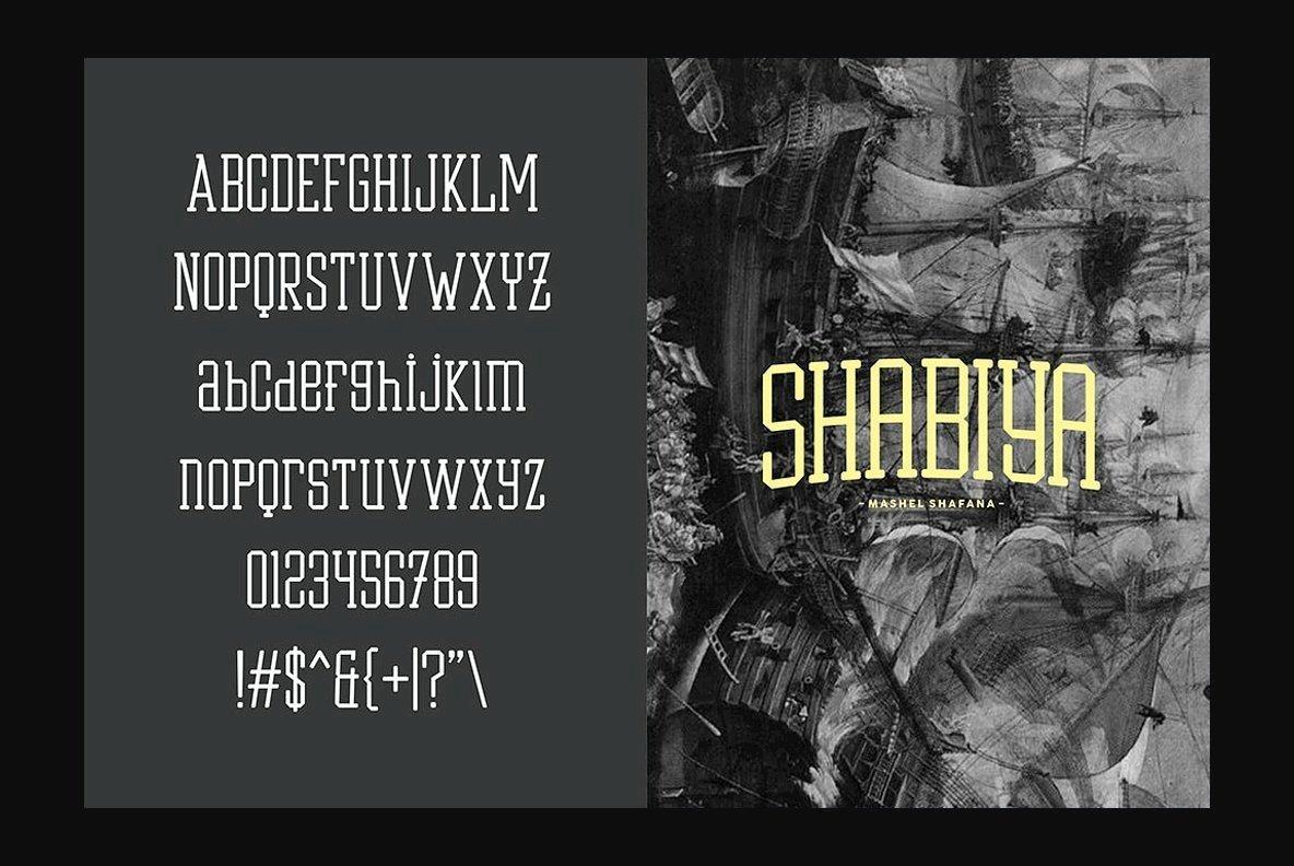 Shabiya Font