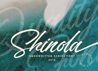 Shinola Handwritten Script