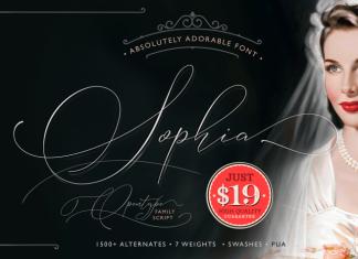 Sophia Font Family