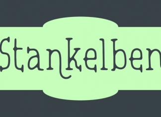 Stankelben Script Font