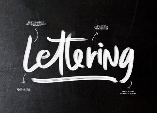 SVG Font Brushes Script