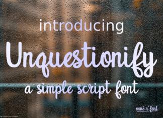 Unquestionify Font