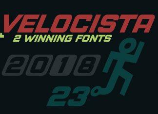 Velocista Display -2 fonts