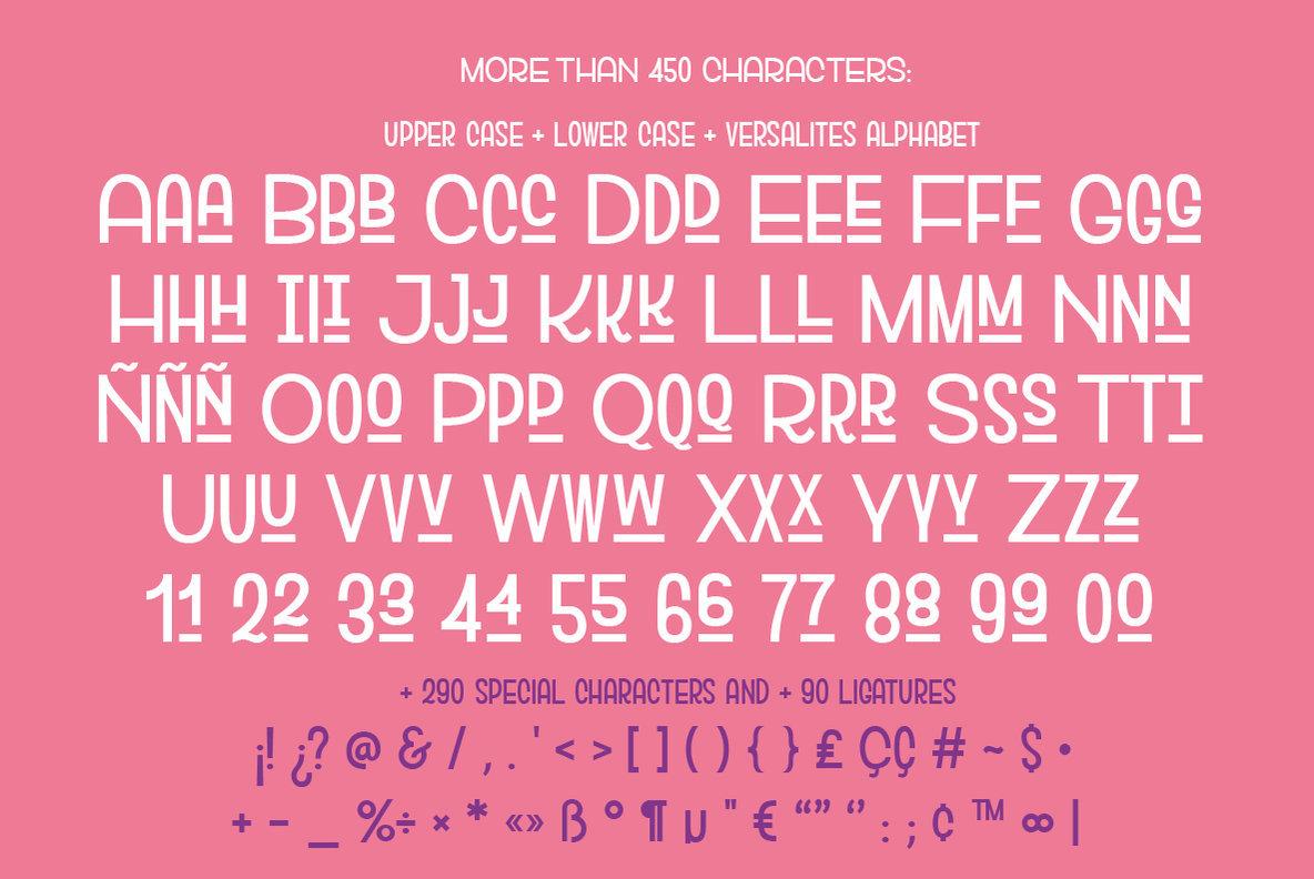 Versalita Font