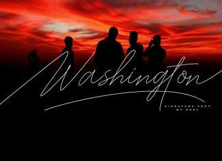 Washington Signature Font
