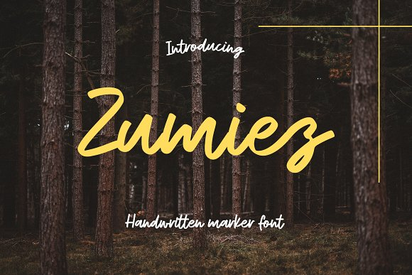Zumiez Script Font