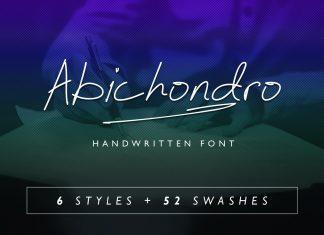 Abichondro Font