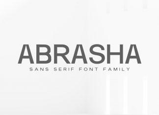 Abrasha Sans Serif Font Family