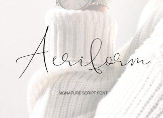 Aeriform Font