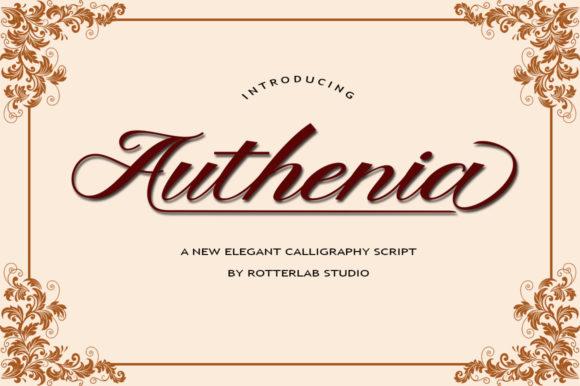 Authenia Script