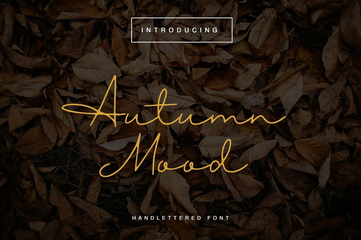 Autumn Mood Font